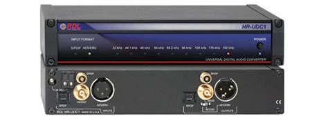 format audio spdif rdl hr udc1 format converter audio aes ebu s pdif