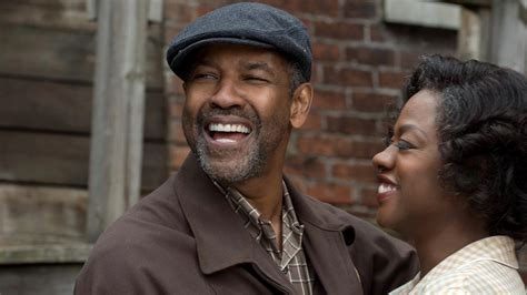 denzel washington viola davis exclusive fences stars denzel washington and viola