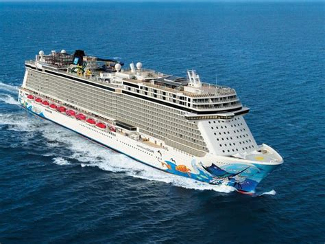 largest cruise line first look inside norwegian cruise line s giant new ship