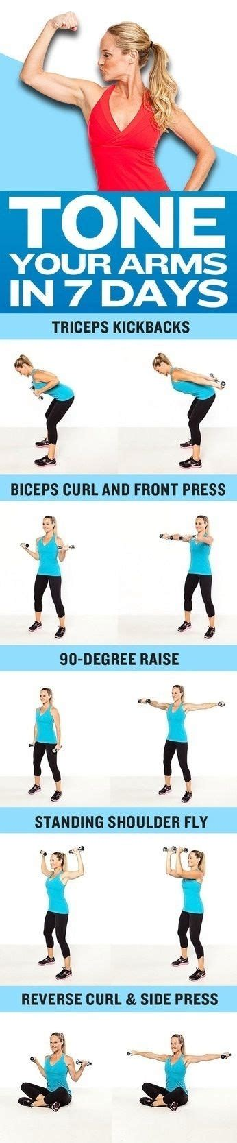 7 Great Exercises To Tone Your Arms by Arm Toning Exercises Health Nutrition And Fitness