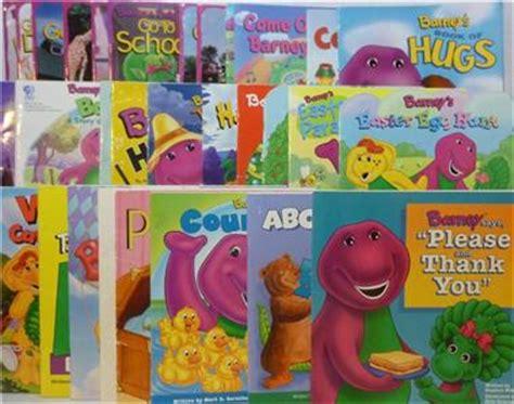 the color purple book ebay lot of 30 barney the purple dinosaur 8 034 x 8 034