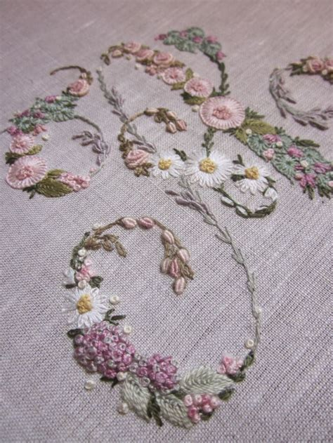 embroidery letters best 25 embroidery alphabet ideas on script