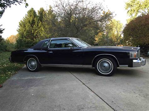 Chrysler Cordoba For Sale by 1978 Chrysler Cordoba For Sale Classiccars Cc 738561