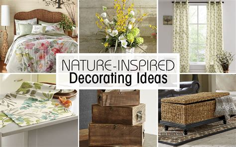 discover these nature inspired home d 233 cor ideas