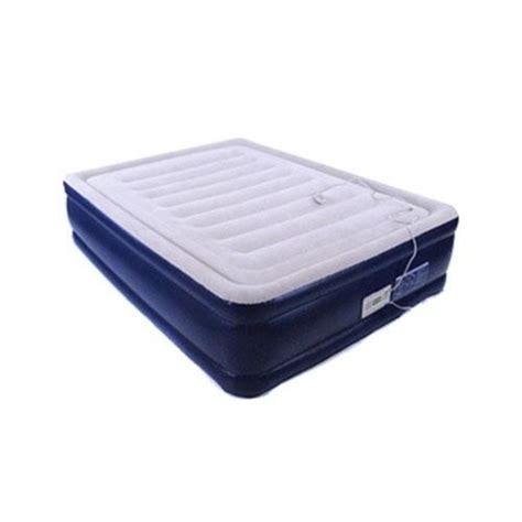 smart air beds smart air beds platinum full raised air bed w built in