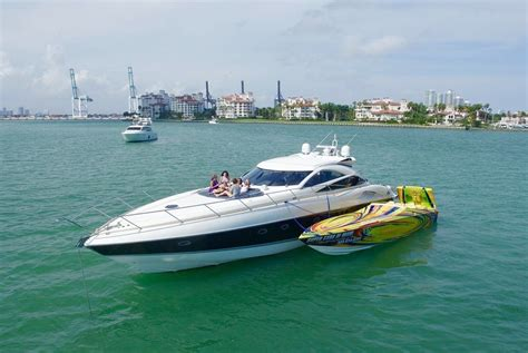 motor boat rental miami beach luxury boat rentals miami beach fl sunseeker motor