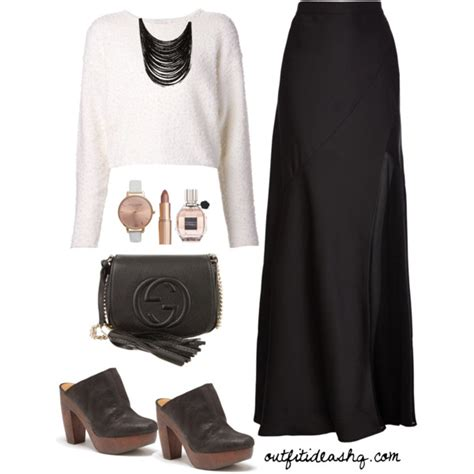 Black and White Outfit Ideas for Church