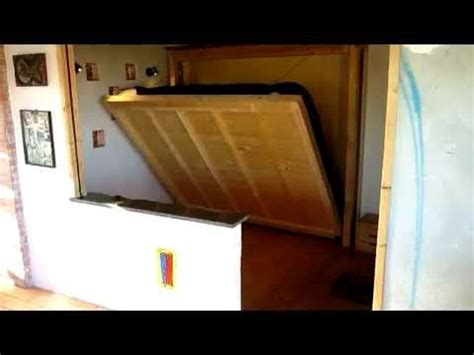 letto a scomparsa a muro letto a muro motorizzato 1