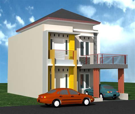 desain depan rumah type 21 foto rumah minimalis type 21 kontemporer 2 lantai rumah