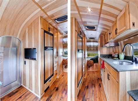 Remodeled Airstream Interiors by Loveisspeed Restored 1954 Airstream Flying Cloud