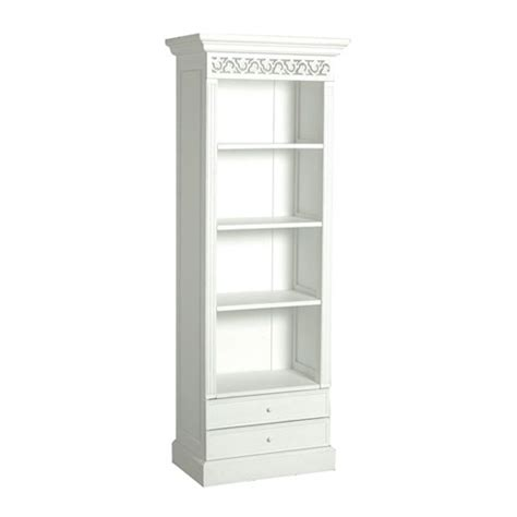 narrow white bookcases inspiration yvotube