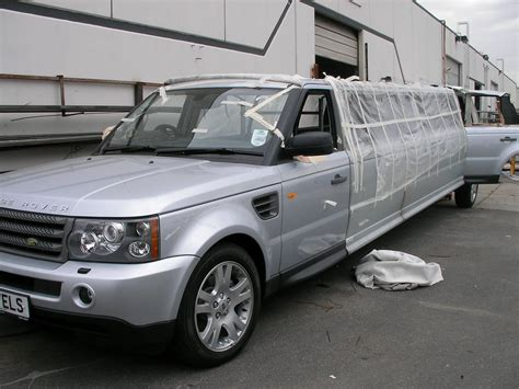 range rover build midlands limos range rover sport limo build hacked