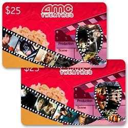 What Movie Theaters Take Amc Gift Cards - lenticular gift card with custom design amc movie theatres film reel changes pictures