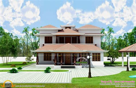 kerala traditional home typical house design and floor