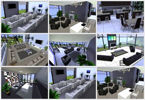 How To Find Blueprints Of Your House Mod The Sims Luxury Modern Mansion The