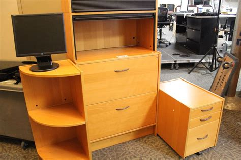 maple ikea office furniture inc 6 lateral storage unit