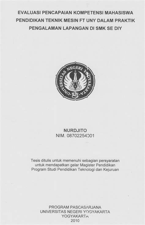 Kumpulan Skripsi Teknik Mesin Sudah Dalam Bentuk File Microsoft Word Di Copy Paste contoh judul tesis teknologi pendidikan
