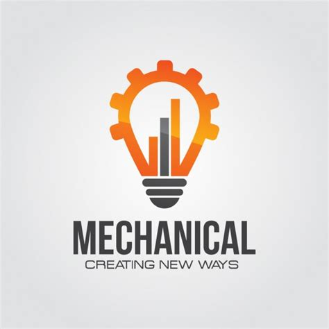 logo design for manufacturing mechanical technology logo vector free download
