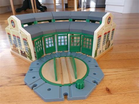 Wooden Railway Tidmouth Sheds by The Tank Engine Wooden Railway Tidmouth Sheds Oak