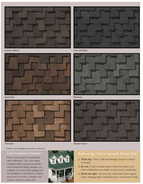 certainteed roofing colors certainteed presidential shingle colors log cottage