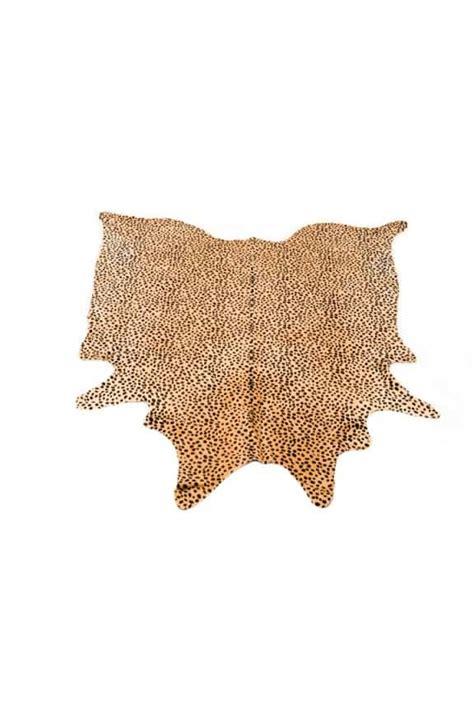 Leopard Print Cowhide - leopard print cowhide rug australian leather