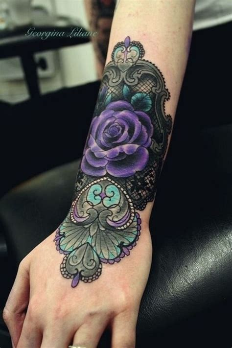 black rose lace tattoo 17 best ideas about lace on lace