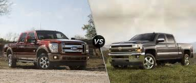 Silverado Vs Ford 2015 Ford F 250 Vs 2015 Chevy Silverado 2500 Hd