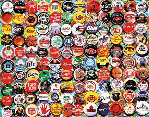 Jigsaw Puzzle Worldwide Bottles 1000 lionheart designs international munchies jigsaw puzzles