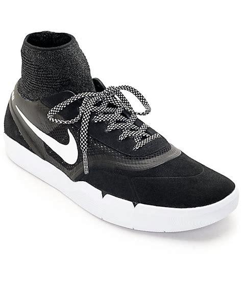 nike sb koston 3 hyperfeel black white skate shoes