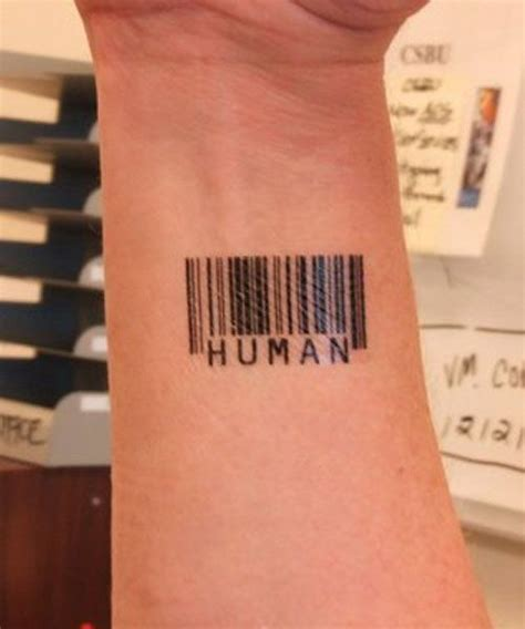 barcode tattoo design 15 best barcode designs with meanings