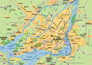 montreal on a map of canada map of montreal johomaps