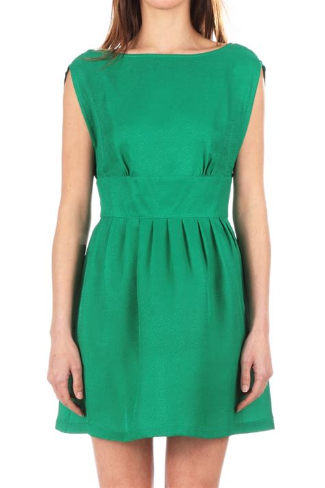 robe sessun robe en soie piano vert sessun sur monshowroom