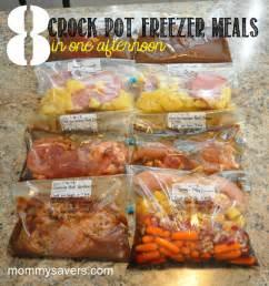 Crock pot freezer meals mommysavers