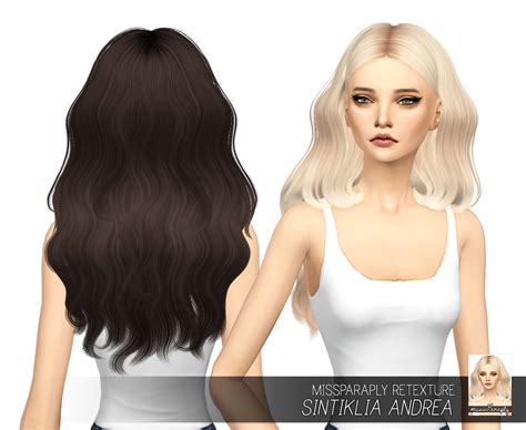 sims 4 hair sims 4 hairs miss paraply sintiklia s andrea hair