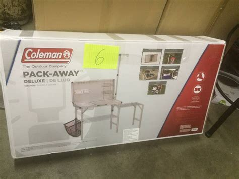 coleman pack away kitchen coleman pack away deluxe kitchen never used kx real deals hastings tools housewares and