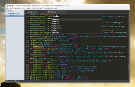 sublime text 2 win mac linux sublime text 2 is a nice textmate alternative for linux