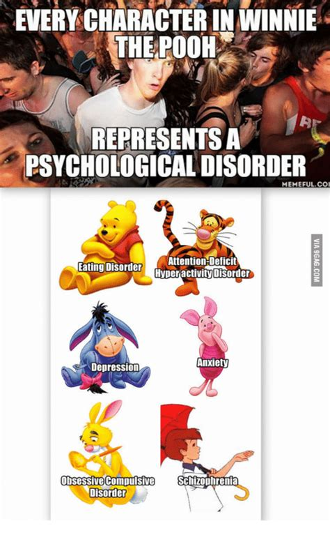 Eating Disorder Meme - 25 best memes about winnie the pooh mental illness