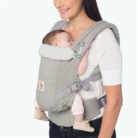 Baby Carrier Geos Baby newborn carrier grey adapt ergobaby
