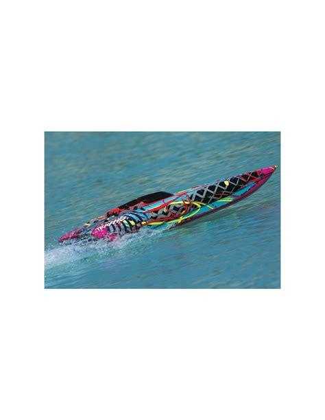 traxxas m41 boat traxxas dcb m41 widebody brushless tqi tsm rtr rc boat