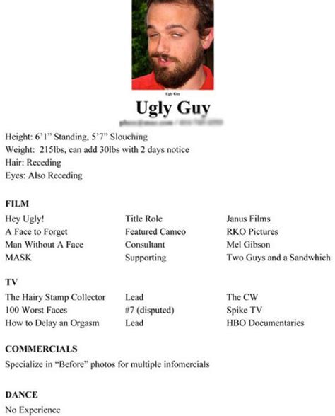 Resume Jokes The 20 Funniest Resume Fails Of All Time Pophangover