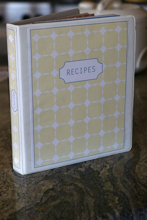 free recipe binder templates pin by liz g on organizing
