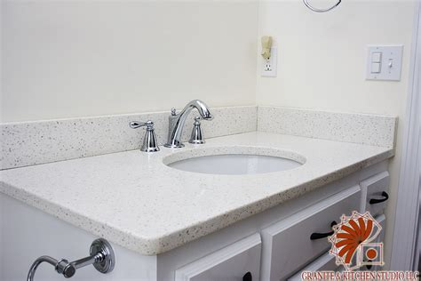 bathroom vanity granite countertop