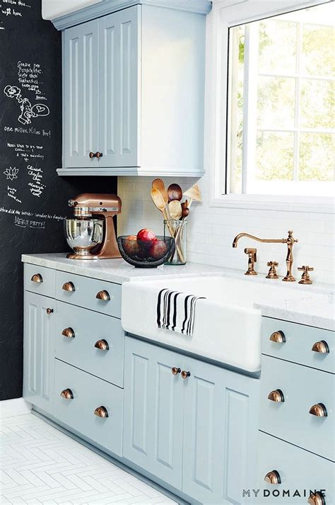 painted blue kitchen cabinets 3139 best kitchens images on pinterest kitchen ideas