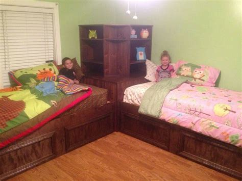 sharing bed pin by laci hatfield on girl s new room pinterest