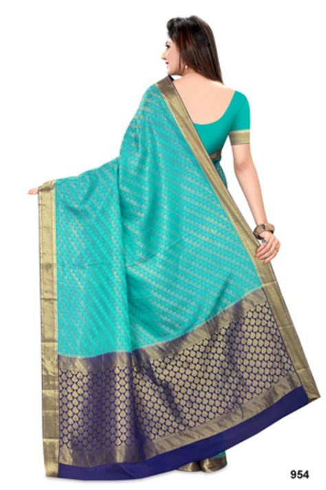 Blouse Ananda buy ananda pure crepe saree with blouse