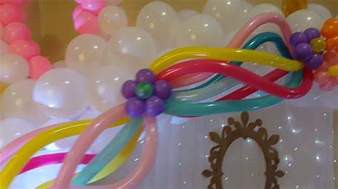 como decorar con globos de unicornio decoraci 243 n con globos unicornio youtube