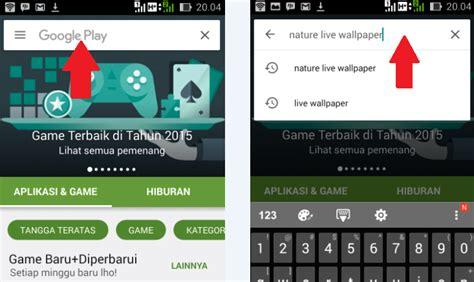 wallpaper alam untuk android cara download wallpaper untuk tablet dan hp android