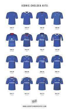 Jersey Bola Team Chelsea Home Official 17 18 Grade Ori 2014 football kits football kits