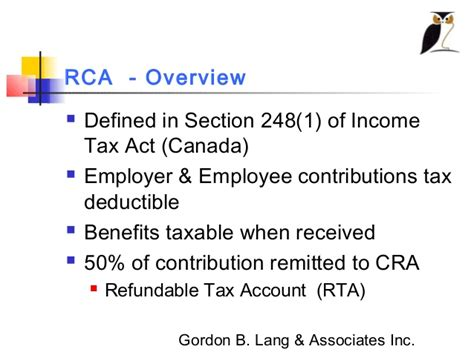section 8 income tax act gordon b lang the truths and myths of retirement
