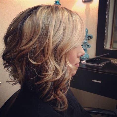 medium length wavy bob hairstyle back view 10 stylish wavy bob hairstyles for medium short hair